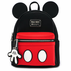Mickey Mouse Faux Leather Backpack