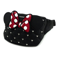 MINNIE MOUSE FAUX LEATHER BELT BAG