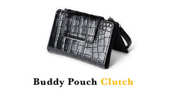 Buddy Pouch Clutch Black