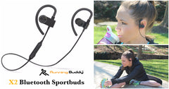 Running Buddy X2 Bluetooth Sportbuds