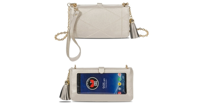 NEW! Allure Touch Screen Purse with Full Size Wallet