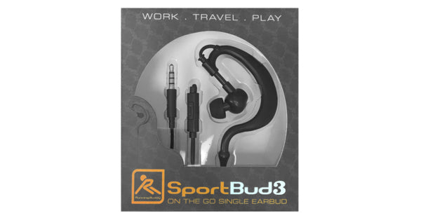 "Running Buddy ""Single Ear"" SportBud 3"