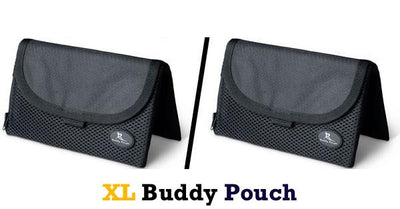 SUPER SAVER BUNDLE! Two XL Buddy Pouches (Choose 2 Colors)