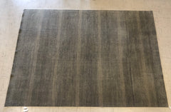 "A17) 9'2x12'3 Gray ""Indo Arts"" Contemporary Rug"