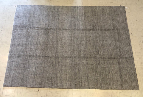 A4)9x12 Handloom Silver gray Transitional