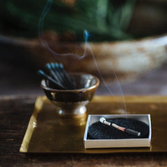 hibi 10 minute incense, matchstick incense, Japanese incense,