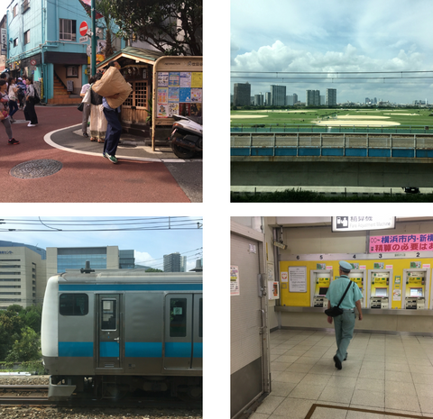 travels to Japan with the maker - streetscapes and urban life