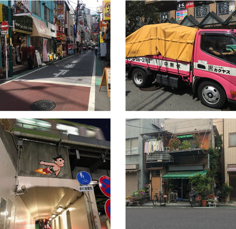 Travels to Japan with the maker - streetscapes and astroboy