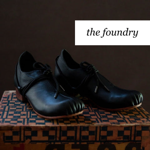 Booker & Co, the maker hobart, designed in Australia, leather shoes, statement shoes, the foundry shoe