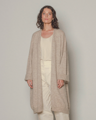 francie : fog cardigan in natural