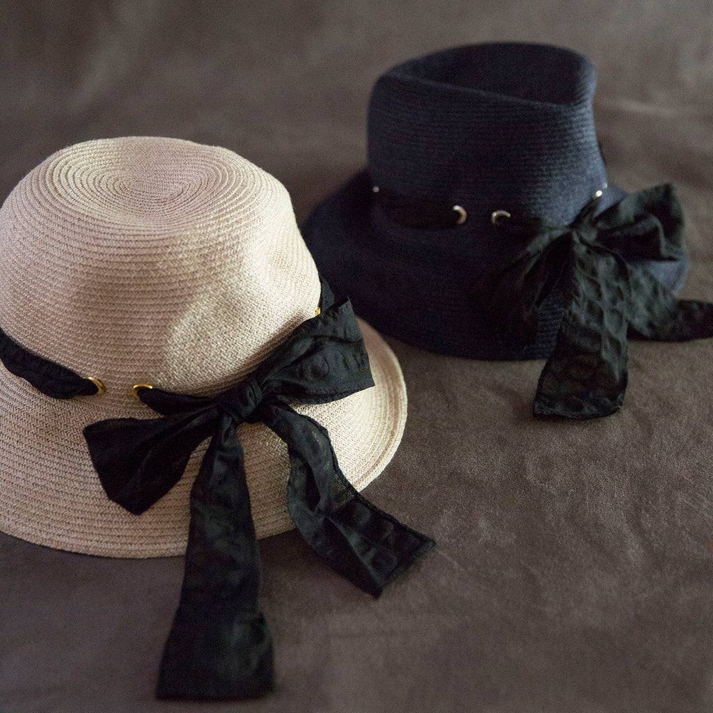 eritate : marguerite wide brim hat