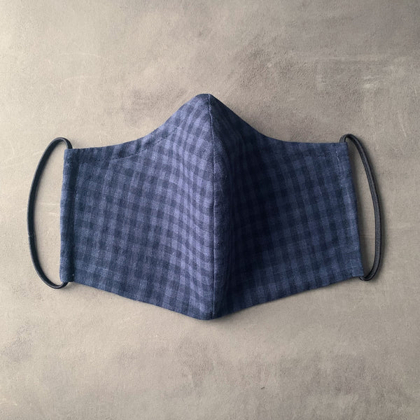 the maker : face mask in derwent gingham M / L