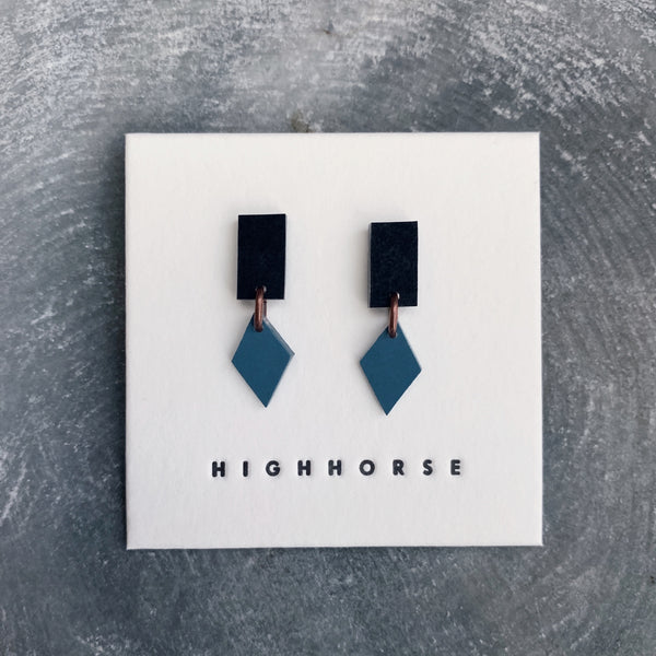 highhorse : lucky charm earrings 06