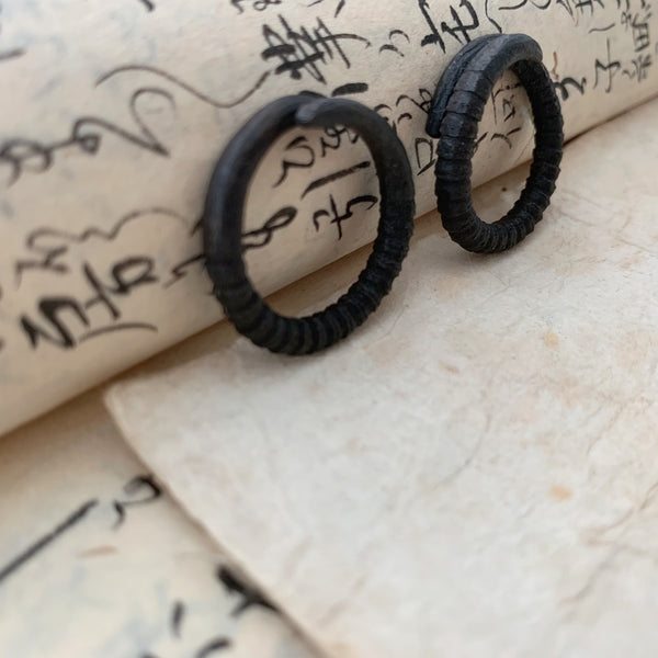 tabito : steel nail ring