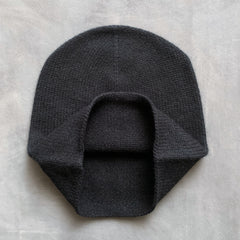 cashmerism : slouch crown beanie in carbon