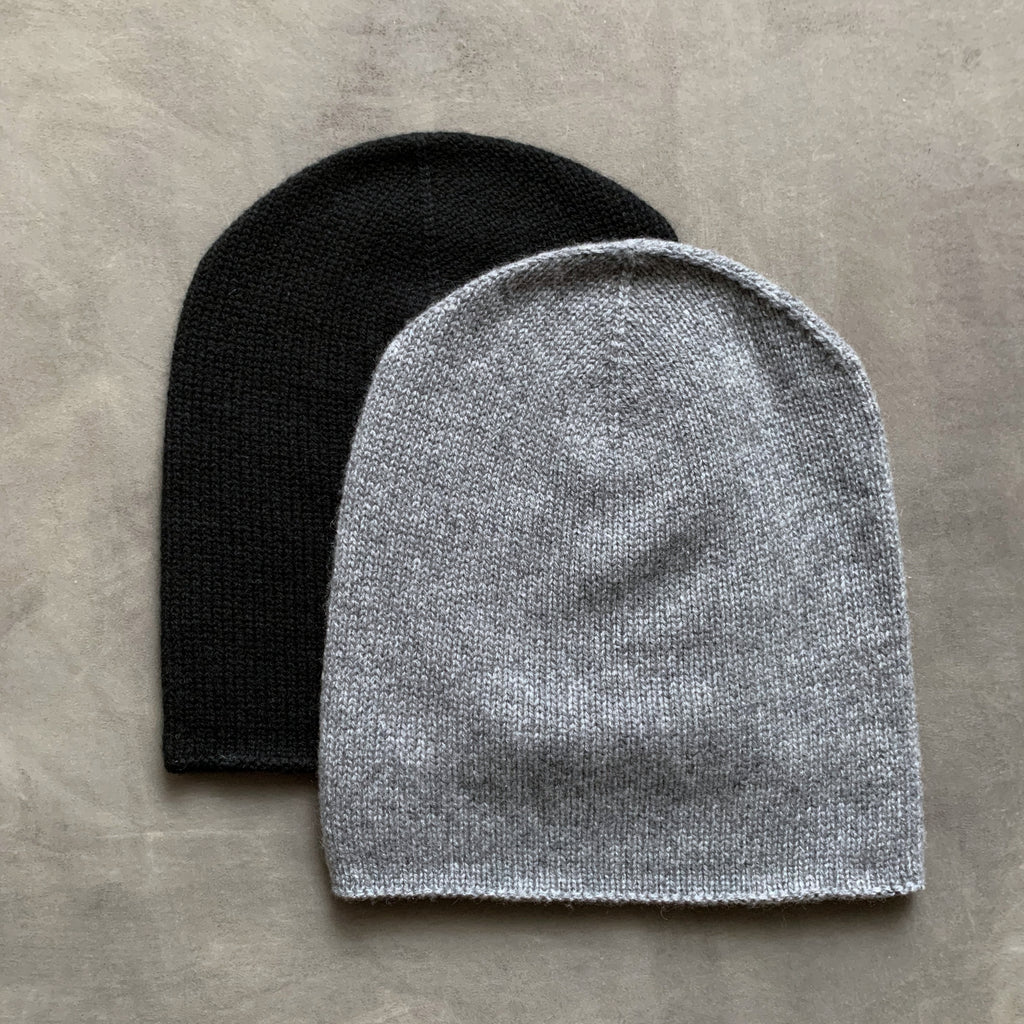 cashmerism : slouch beanie in carbon