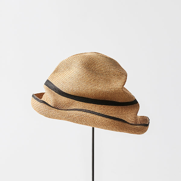 mature hats : boxed hat wide brim