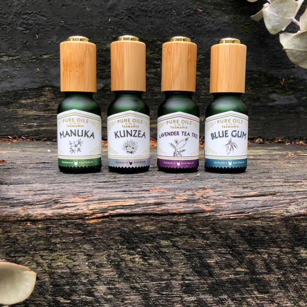 pure oils of tasmania : blue gum essential oil
