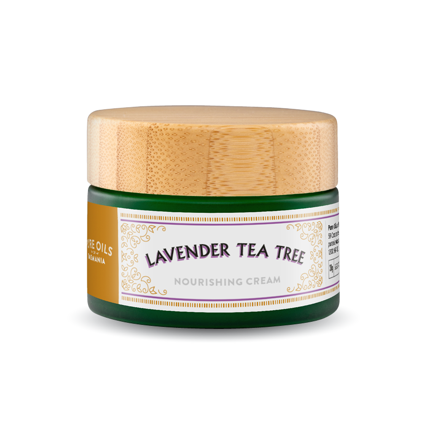 pure oils of tasmania : lavender tea tree nourishing cream