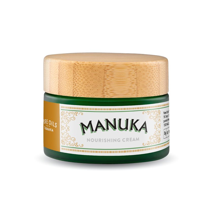pure oils of tasmania : manuka nourishing cream