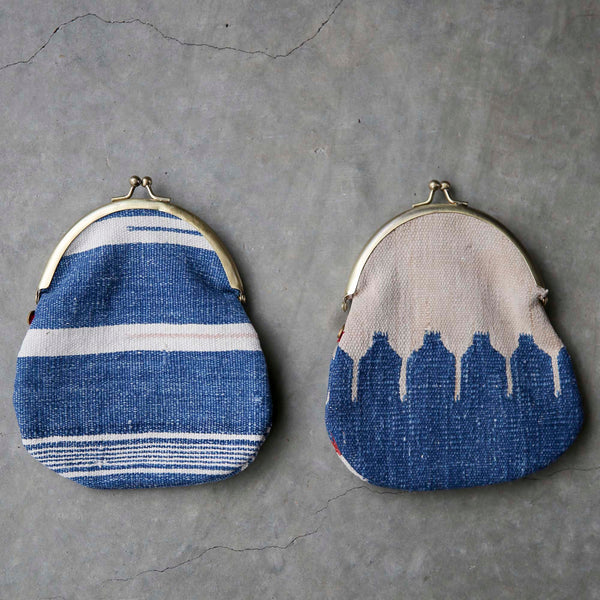 bunai : vintage cotton kilim purse