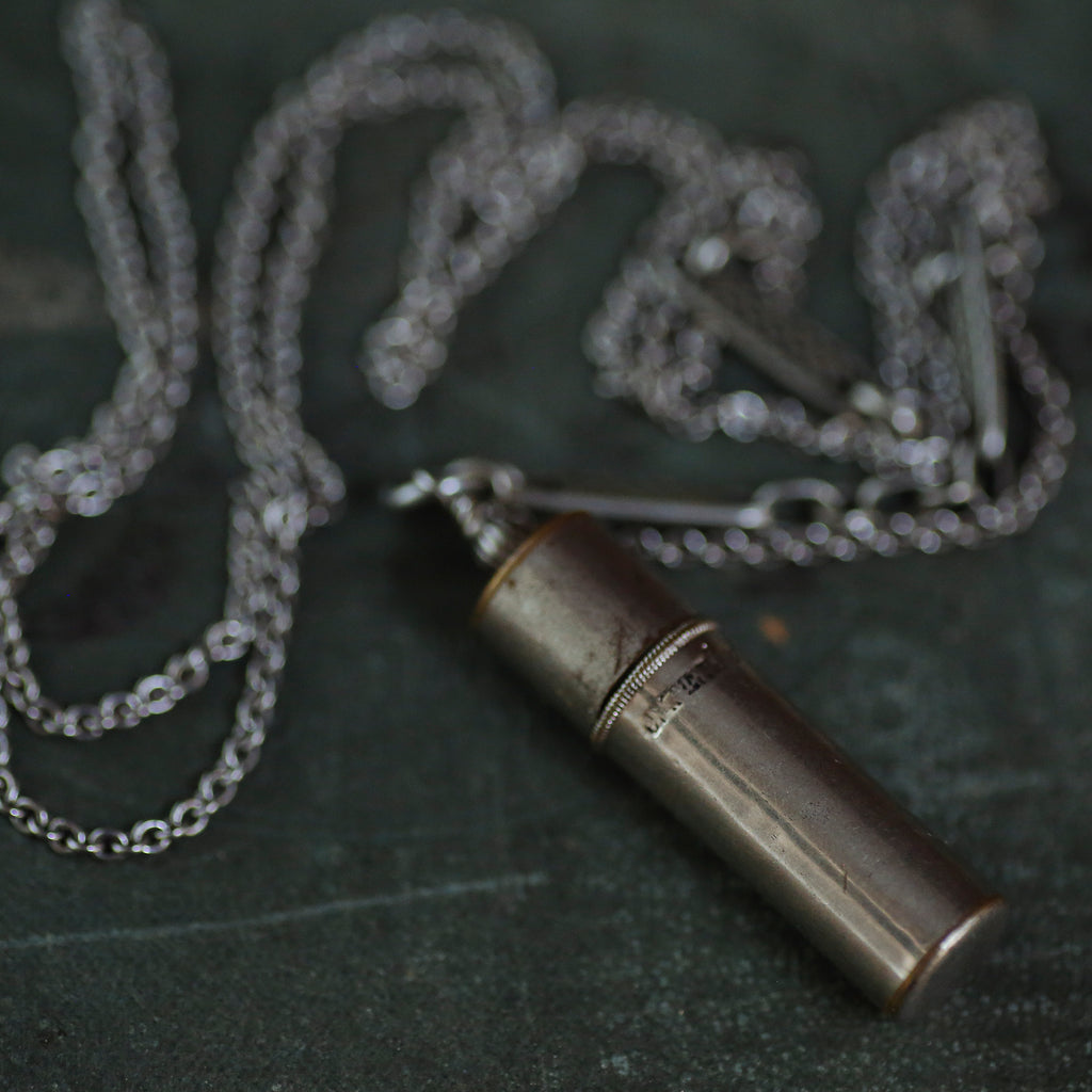 tabito :  pencil lead case necklace