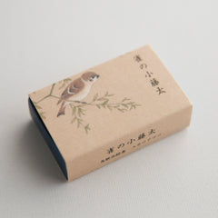 matchbox mini card (kotota of the sparrow)