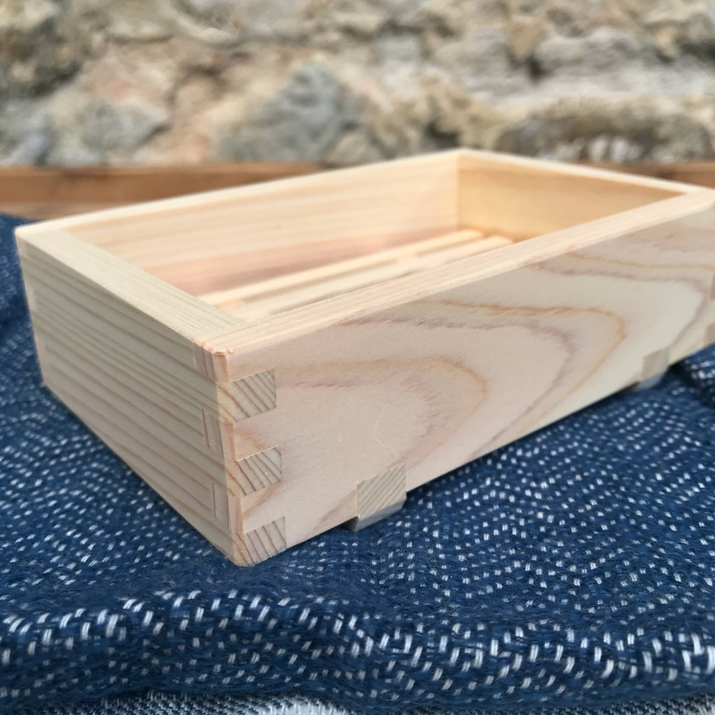japanese cypress soap dish