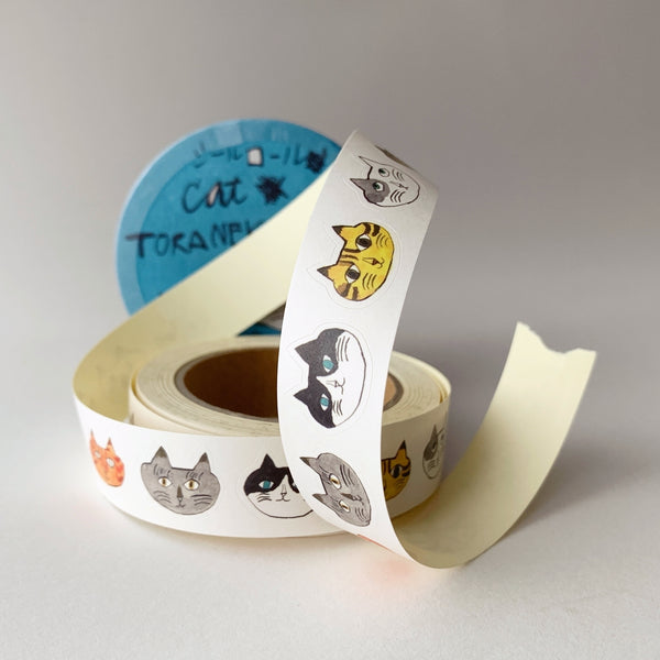 toraneko bonbon : sticker roll small