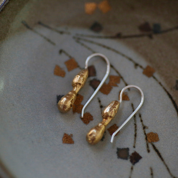 jane hodgetts : all shall crumble into dust earrings mini