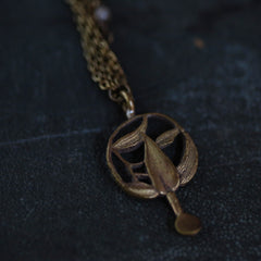 tabito : vintage kansashi necklace