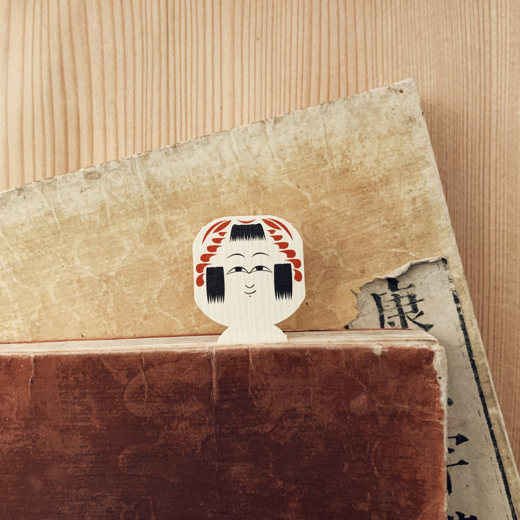 cochae : kokeshi bookmarks