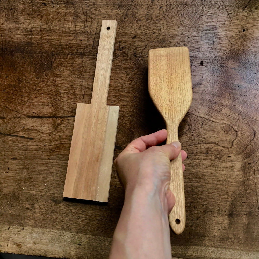 urban ole ecopark : my wood spatula kit
