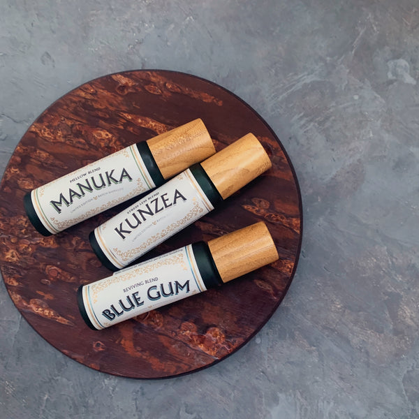 pure oils of tasmania : manuka mellow roll on blend