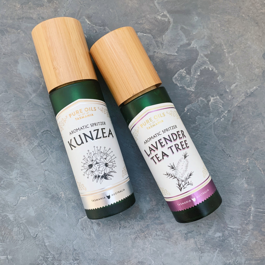 pure oils of tasmania : lavender tea tree rainwater spritzer
