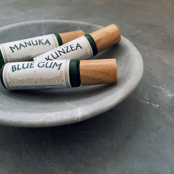 pure oils of tasmania : blue gum roll on blend