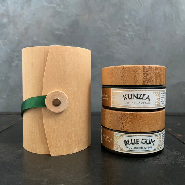 pure oils of tasmania : double cream set kunzea and blue gum