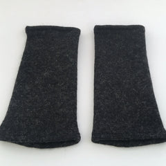 arm warmers short : graphite fleck