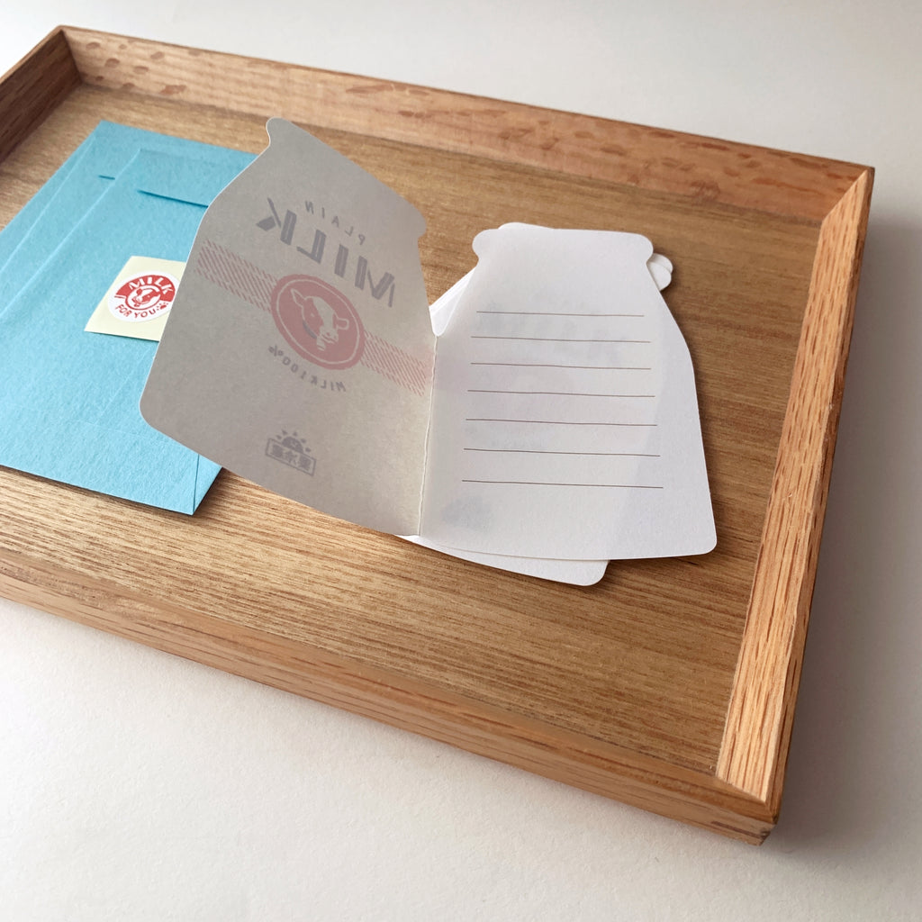 retro breakfast letter set