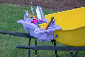 Garden Caddy For Wheelbarrow Organize Your Garden Tools