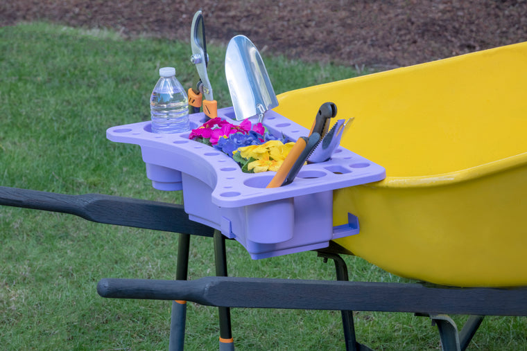 Garden And Tool Caddy Wheelbarrow Caddy