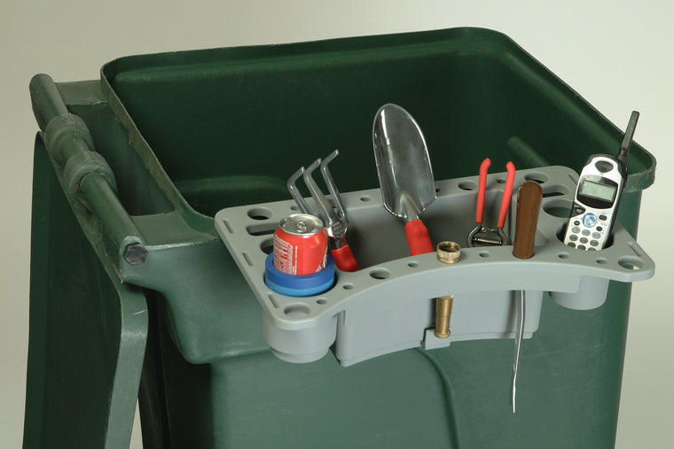 Yard Waste Bin Tool Caddy