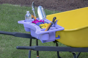 Garden Tool Caddy organize your garden tools wheelbarrow caddy