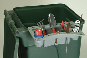 Yard Wast Bin Caddy Garden Tool Caddy organize your garden tools