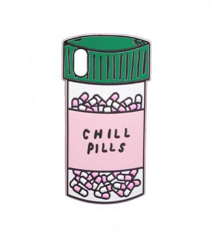 Chill Pills iPhone Cover