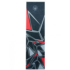 Blunt geometric griptape red