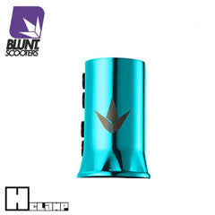 Blunt H clamp teal