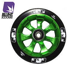 Blunt 7 spokes 110mm - Green black