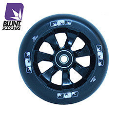 Blunt 7 spokes 110mm - Black black