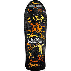 Powell Peralta Bones brigade lance mountain re-issue deck black metallic